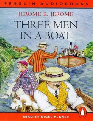 "three men in boat So, on the following evening, we again assembled, to discuss and arrange our plans harris said: ""now, the first thing to settle is what to take with us."